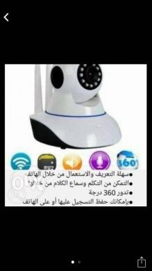 Cameras, Camcorders & Studio Equipment in Al Dahye - Camera wifi سهلة التعريف والأستعمال من خلال الموبايل