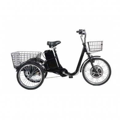 Sports, Leisure & Travel in Bir Hassan - E-Tricycles Electric Bike E Bicycle with 36V Lithium Battery 250W Black New Speed 30Km/H
