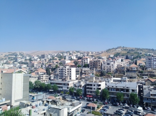 Apartment in Zahleh - zahle apartment with panoramic view of zahle for rent