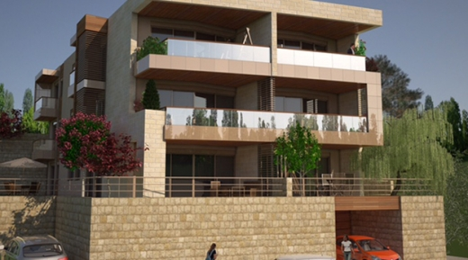 Apartment in Bikfaya - Under Construction Apartment For Sale In Ain Aalak