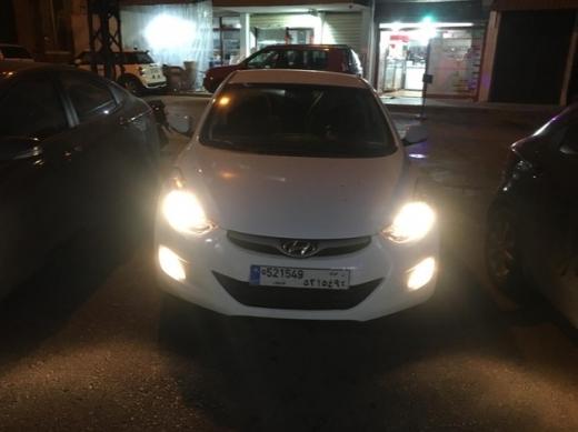 Hyundai in Achrafieh - Hyundai 2014 White for SALE