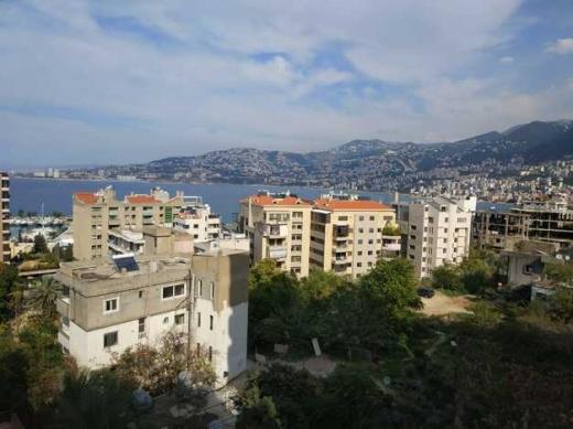 Apartment in Kaslik - شقة مفروشة في الكسليك 140م منظر بحر طابق خامس