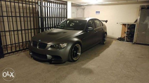 BMW in Beirut City - E90 to M3 2011converted 6