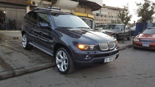 BMW in Tripoli - BMW x5 2004