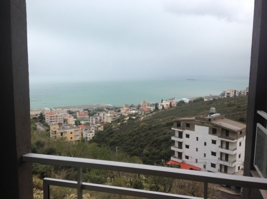 Apartment in Halate - Brand New Apartment for Rent in Halat Jbeil with Panoramic Sea View