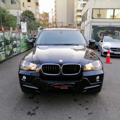 BMW in Mkalles - Rkein Motors: تقسيط بدون دفعة أولى BMW X5 3.0 Black 2008