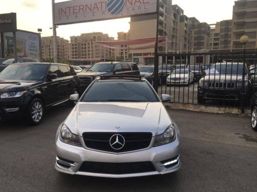 Mercedes-Benz in Beirut City - Mercedes C250 Coupe 2013
