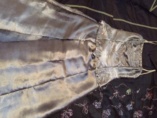 Dresses in Kfar Chima - Handmade Evening Metallic Dress