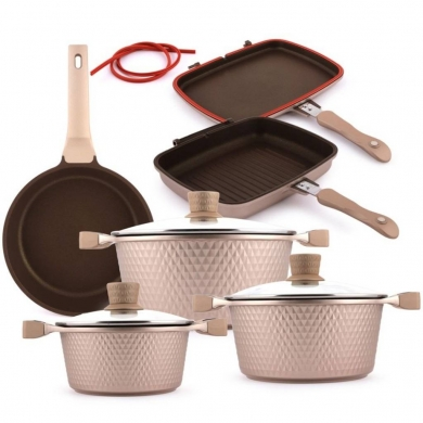 Pots & Pans in Mar Elias - Balzano cookware set italy brand with Gifts