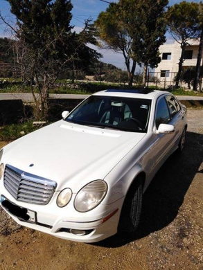 Mercedes-Benz in Tripoli - Mercedes-Benz E350 2007