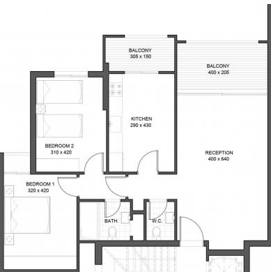 Apartments in Ballouneh - New 110 sqm apartment in Ballouneh