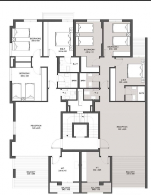 Apartments in Ballouneh - New  150 sqm apartment in Ballouneh for sale