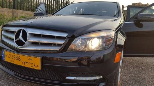 Mercedes-Benz in Beirut City - Mercedes-Benz C300 modell 2011