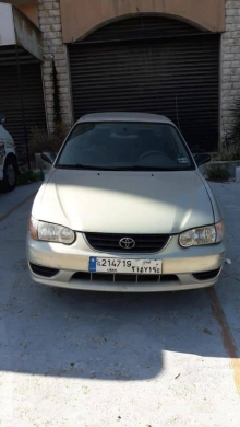 Toyota in Beirut City - Toyota Corolla 2002