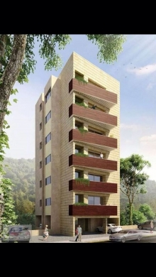 Apartments in Kfar Yassine - apartment for sale in kfrayassine brand new one unit per floor hot deal