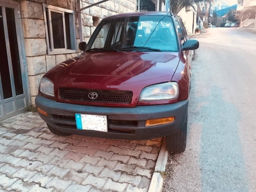 Toyota in Beirut City - Toyota RAV4 - Model 1996 - Very Clean Car