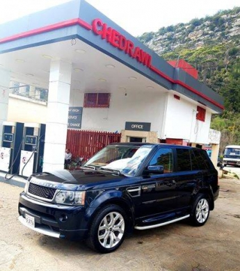 Land Rover in A'aba - Range sport 2008 full look 2012