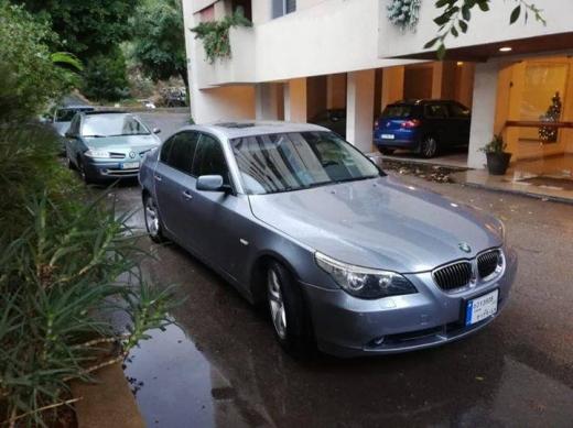 BMW in Tripoli - BMW e60 525i 2006