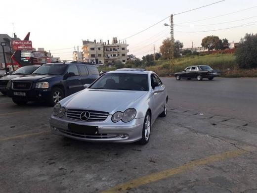 Mercedes-Benz in Kousba - mercedes 320 clk 2003