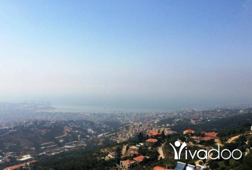 Apartments in Ain Saadeh - Amazing view from a Duplex with 50 Sqm terrace in Ain Saadeh