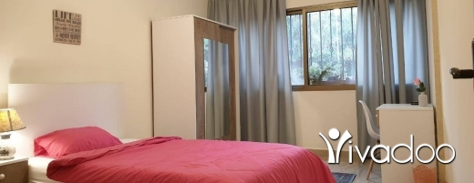 Single Room in Hamra - [GIRLS ONLY] Fresh New Apartment • Facing LAU Lower Gate