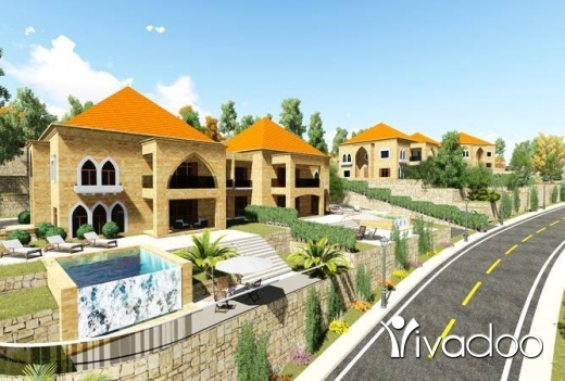 Villas in Terbol - Villa for sale in Minieh Danniyeh + GARDEN