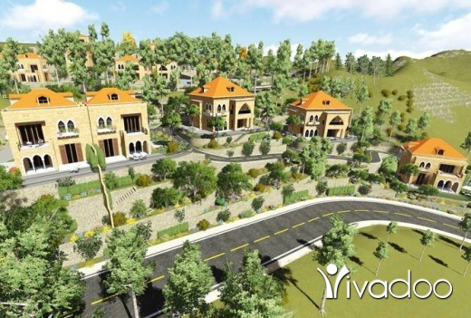 Villas in Terbol - Villa for sale In Terbole, North + Garden
