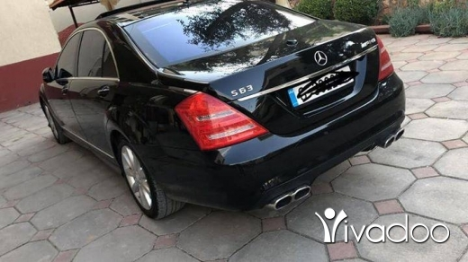 Mercedes-Benz in Beirut City - Mercedes-Benz S550-2007  Look 2012-amg