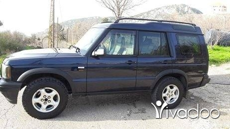 Jeep in Sir Denniyeh - Rover discovery 2000