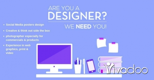 Graphic Design & DTP in Jnah - Part-time (Female) Graphic Designer needed