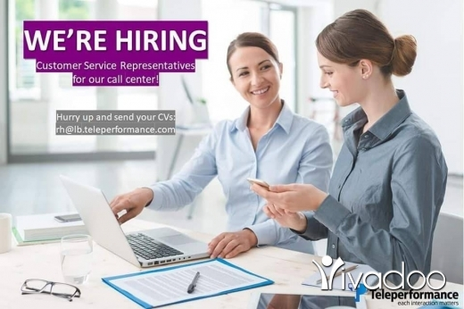 Call Centre/Support Sales Admin in Beirut City - Customer service representatives needed