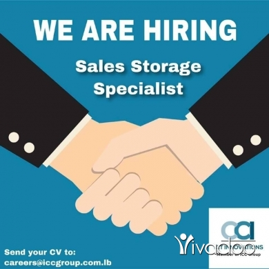 Sales Executive in Beirut City - sales storage specialist needed