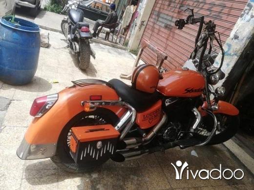 Harley-Davidson in Tripoli - Vt. 1100.cc