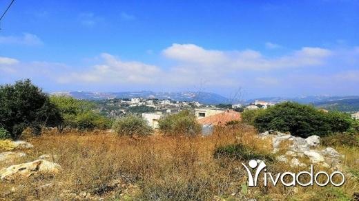 Other real estate in Bejje - Land for Sale Bejjeh Jbeil Area 2829Sqm Zone ( V ) 15-30%