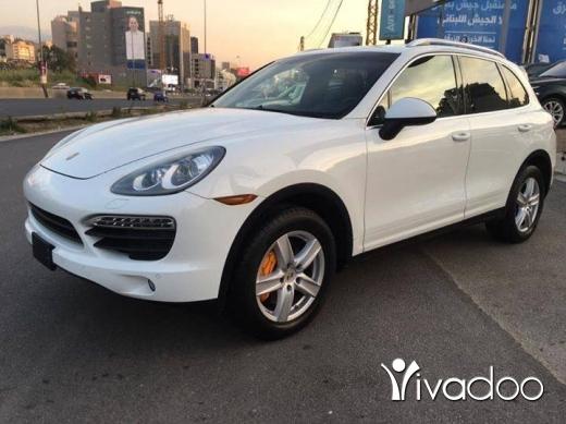 Porsche in Beirut City - Porsche Cayenne V6 2012