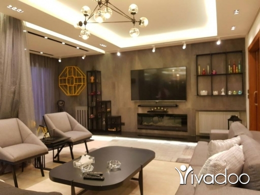 Apartments in Jal el-Dib - Ref (PE1.A.917)  Luxurious furnished 240 m2 apartment having an open view for  rent in Jal El Dib