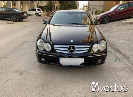 Mercedes-Benz dans Beyrouth - Mercedes-Benz CLK 320