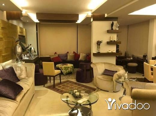 Apartments in Sahlat Ma'a - للبيع شقة فخمة جدا في سهيلة ١٨٠ م من الداخل +١٠٠ تراس و حديقةمفروشة بالكامل تل ٧١٦٥٤٩٥٥