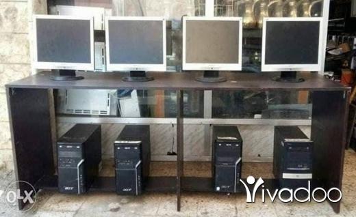 PC Laptops & Netbooks in Beirut City - 8 كمبيوترات و 8 شاشات بحالة جيدة جدا