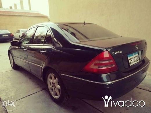 Mercedes-Benz in Minieh - C240 mercedes 2003 cell 03398608