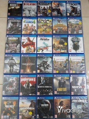 Games & Board Games in Tripoli - Cd ps4