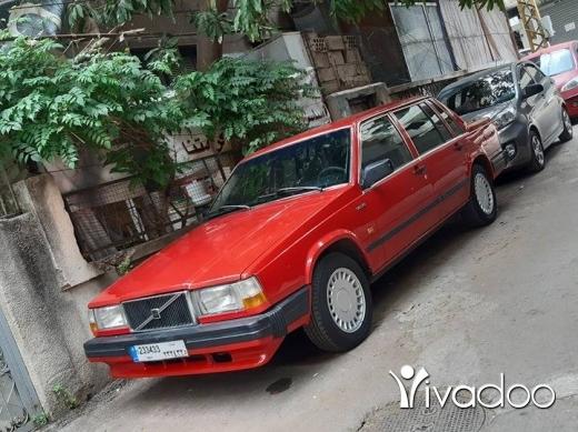 Volvo in Beirut City - Volvo 740 1987