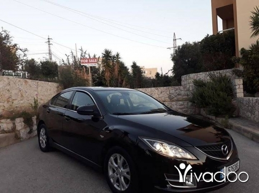 Mazda in Hboub - 2009 Mazda 6 black color 4 Cilender