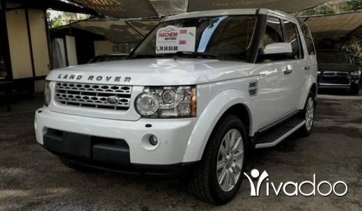 Rover in Sin el-Fil - Land rover LR4 2012 V8 white/black LUX
