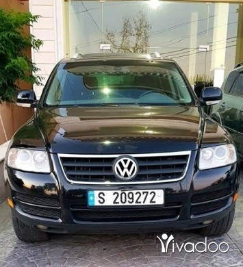 Volkswagen in Khiyem - Touareg