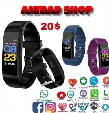 Watches in Other - Smart wristband heart rate fitness trackter