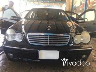 Mercedes-Benz in Nabatyeh - مرسيدس موديل ٢٠٠٢ C240 مميزة