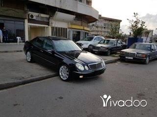 Mercedes-Benz in Tripoli - Mercedes E 320