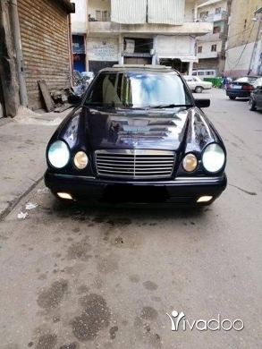 Mercedes-Benz in Tripoli - مرسيدس أم عيون 280 موديل 97