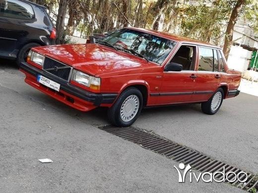 Volvo in Beirut City - Volvo 740